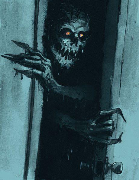 Оно пришло за мной... Боязнь темноты, Чудовище, Крипота, Трусливый пес, Страх, Длиннопост