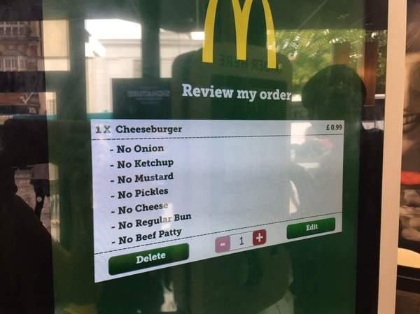 Вот что я люблю! макдоналдс, Чизбургер, Заказ, пакетик, вкусняшки, вкусно, длиннопост