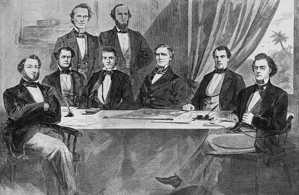 """Фотография 1860-х. То есть им сказали: """"Не шевелитесь, ща я дорисую""""? Фотография, 19 век, КША, Конфедераты, Википедия"""