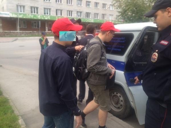 КПРФ поймали на использовании малолетних агитаторов политика, КПРФ, Новосибирск, агитаторы, полиция, длиннопост