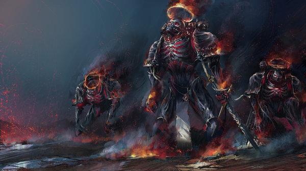 Такими вы их еще не видели Warhammer 40k, wh art, космодесант, Фантазия, концепт