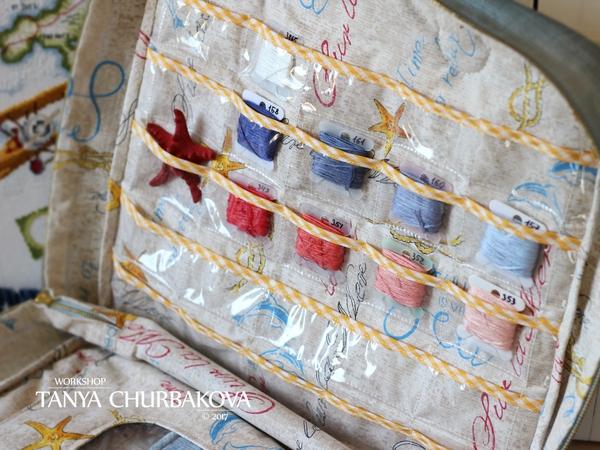 Сумка для вышивки с вышивкой Рукоделие без процесса, Вышивка, Шовчики, Сумка, Органайзер, Длиннопост