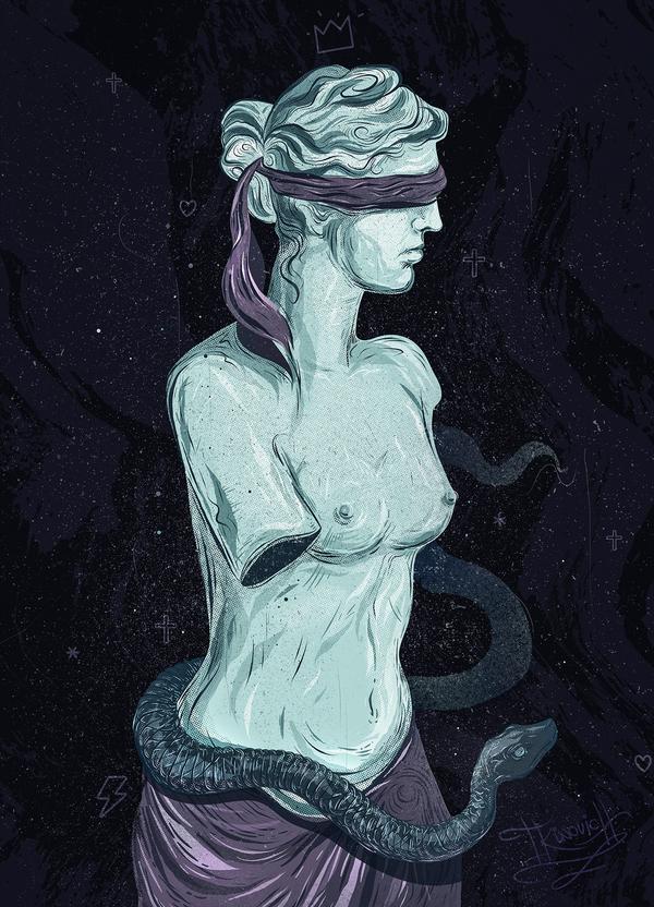 Венера | векторная иллюстрация Арт, Моё, Рисунок, Лига художников, Векторная графика, Венера, Венера милосская, Статуя, Длиннопост