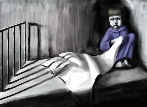 Как познаётся страх Страх, Детство
