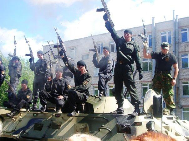 29 Август Спецназ, Русский спецназ