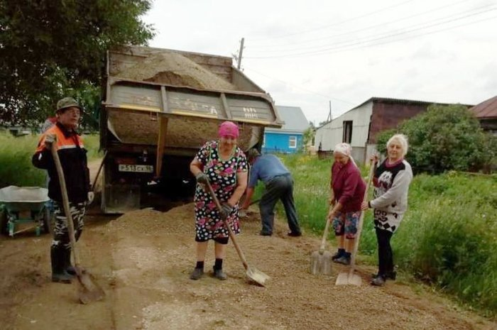 ремонт дороги сами