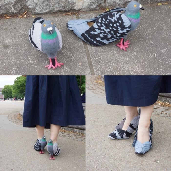 Птицы, ноги и диор Длиннопост, Обувь, Голубь, Мода что ты делаешь, Теги явно не мое