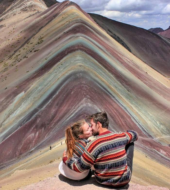 Радужные горы в Перу Природа, Горы, Красота, Фотография, Радужные горы, Перу, Путешествия, Длиннопост