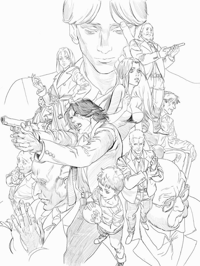 Все персонажи из манги/аниме от MICHAEL CHANG Anime Art, Аниме, Манга, Монстр, Slam dunk, Hunter x Hunter, Fullmetal alchemist, Michael chang, Длиннопост