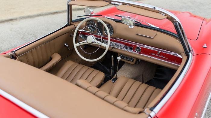 1958 MERCEDES-BENZ 300SL Авто, Ретро, Ретроавтомобиль, Мерседес, Длиннопост