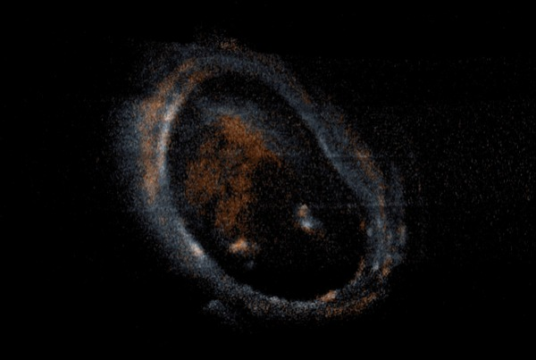 Замечено гигантское полярное сияние на Юпитере Juno, Юпитер, Космос, Гифка