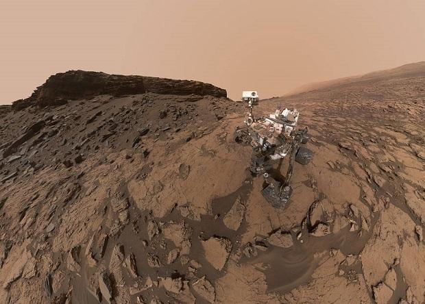 Curiosity нашел бор в марсианской почве наука, новости, космос, Марсоход, марс, curiosity, геология