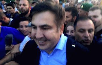 Саакашвили прорвался на Украину и рассказал там о «жирных генералах» Михаил Саакашвили, Юля тимошенко, Евромайдан, Политика, Длиннопост, Видео