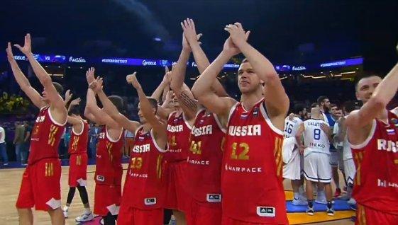 Россия – в полуфинале Евробаскета! Россия, Баскетбол, Чемпионат европы, Сборная