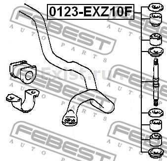 Стабилизатор Toyota Tercel/Corsa EL5# Доработка, Toyota, Стабилизатор, Tercel, Corsa, EL51, Длиннопост