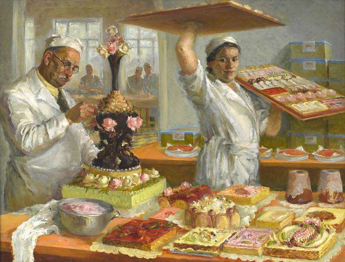 1937 год в СССР по живописным источникам не мое, картина, Живопись, ссср, длиннопост