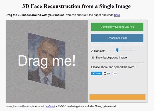 ИИ-эксперты создали сайт для преобразования фото лица в 3D Нейронные сети, Фотография, Объем, Технологии, 3D, Гифка, Длиннопост