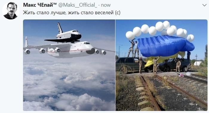 Было - стало, и тридцати лет не пошло. Украина, Политика, Развитие, Упадок, Экономика, Самолетостроение, Twitter
