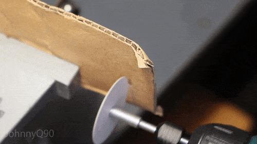 На что способен бумажный диск при большой скорости вращения.