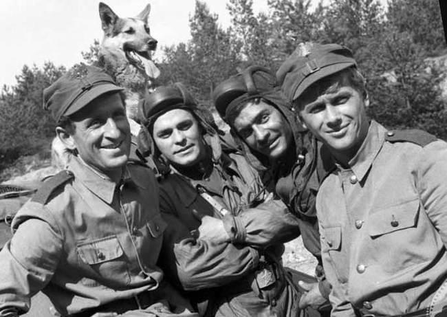 """""""Четыре танкиста и собака"""" 50 лет спустя. Четыре танкиста и собака, Актеры и актрисы, Классное кино, Длиннопост, Собака"""