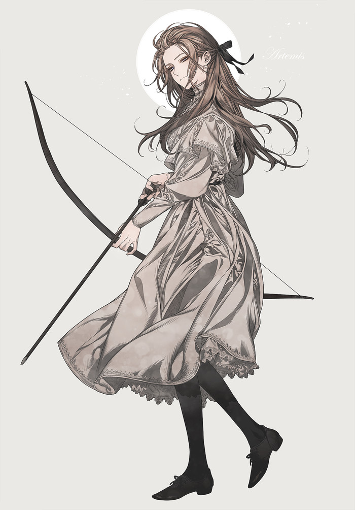 Artemis Artemis, Древнегреческие боги, Арт, Anime Art, Аниме