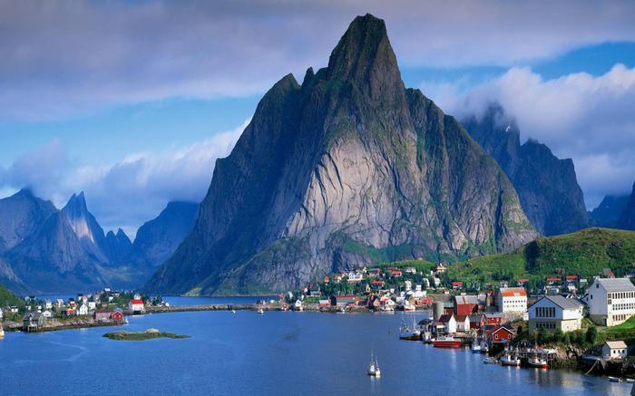 Роскошные пейзажи Норвегии - Страница 22 1506145994124267639