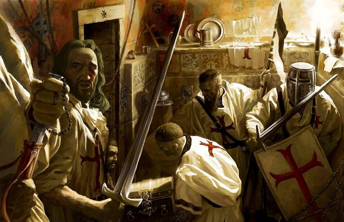 Роковое число тамплиеров – 22 Лига историков, Тамплиеры, 1307, Длиннопост