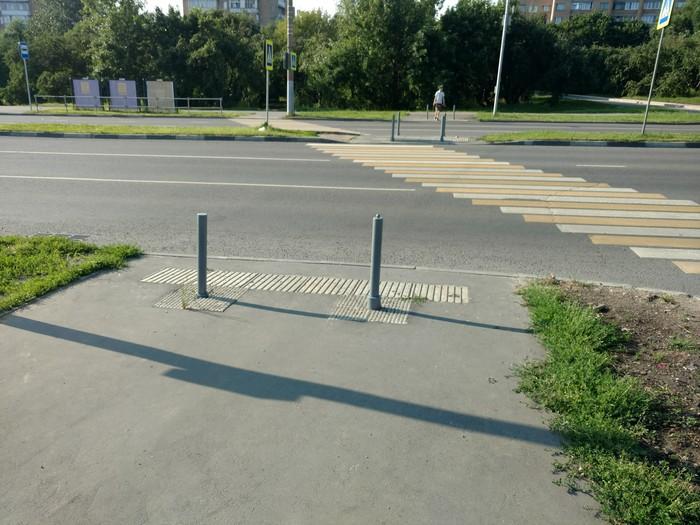 Когда решил сделать все на глазок дорога, разметка, и так сойдет, Москва, длиннопост
