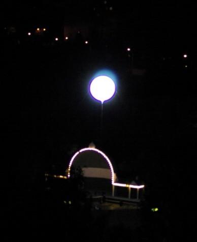 Ночное НЛО ) Свет, Электричество, Муниципалы, Ночь