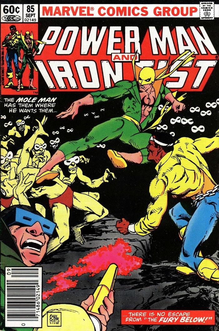 Знакомство с комиксами: Пол это лава! Супергерои, Marvel, Железный кулак, Люк Кейдж, Комиксы-Канон, Длиннопост