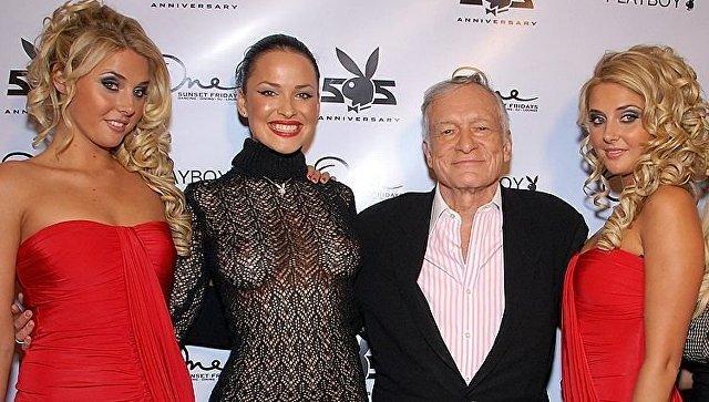 Скончался основатель журнала Playboy Хью Хефнер общество, США, playboy, журнал, хью хефнер, РИА Новости
