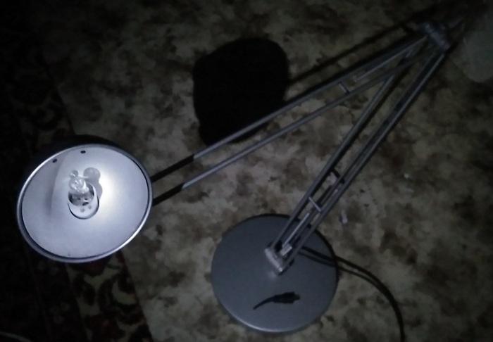 Как собрать лампу из говна и палок, когда нечего делать Рукожоп, Лампа, Пайка, Светодиоды, Да будет свет, Ночь, Длиннопост