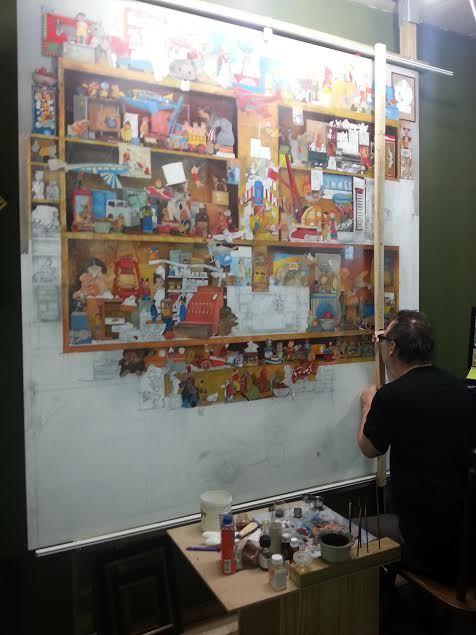 Два с половиной года на картину. картина, творчество, жизнь, длиннопост