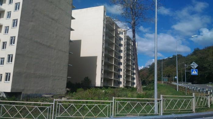 """""""Город, которого нет"""" - микрорайон-призрак вблизи от Центра Сочи сочи, олимпийское наследие, погода в сочи, недострой, микрорайон-призрак, как в припяти, длиннопост"""