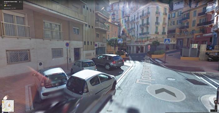 Я смотрю в Монако тоже инвалиды на каенах есть.