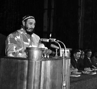 Визит самого верного товарища нашей страны Фиделя Кастро.Узбекская ССР 1963 год.