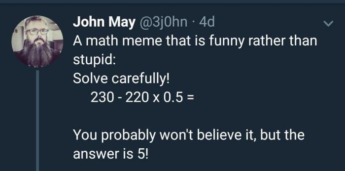 Вы не поверите, но ответ 5! Математика, Не смотри теги, Там есть спойлер, Факториал