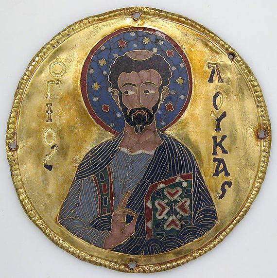 Византийские эмали со святыми. Константинополь, ок. 1100 Византия, Эмаль, Святые, Золото, Ювелирное дело, Длиннопост