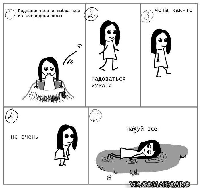 Как решаются проблемы Решение проблемы, Комиксы