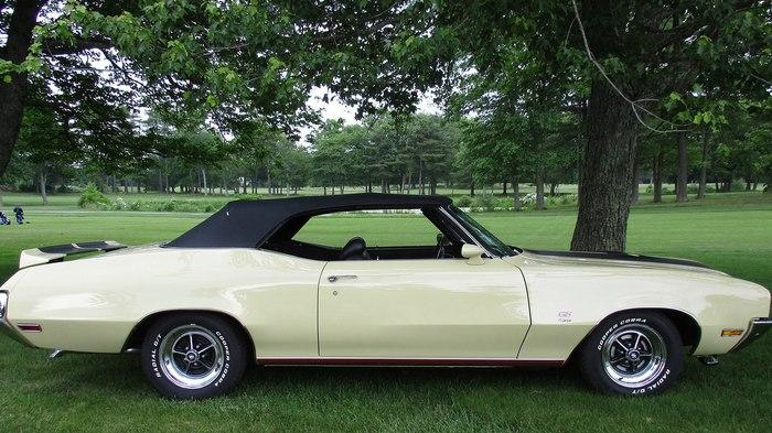 1970 BUICK GS Ретроавтомобиль, Buick, 1970, Американская машина, Длиннопост