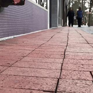 Уличные инсталляции. Автор - Дэвид Зинн Искусство, Улица, Творчество, David Zinn, Pop-Up, Не мое, Гифка, Длиннопост