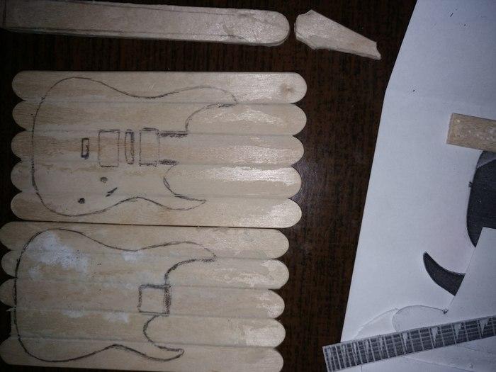 Гитарка барби-сайз) Гитара, Своими руками, Моё, Пятничный тег моё, Длиннопост