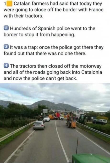 Смекалочка 9gag, Каталония, Испания, Полиция, Политика
