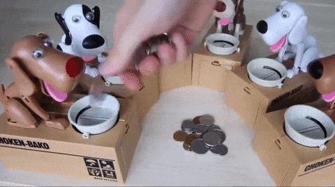 Копилки для монет.