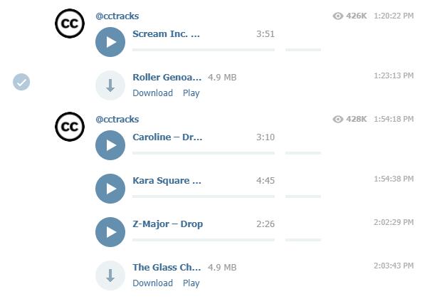 Как использовать Telegram в качестве музыкального сервиса с доступом к миллионам треков Telegram, Музыка, Трек, ВКонтакте, К контакте, Павел Дуров, Длиннопост
