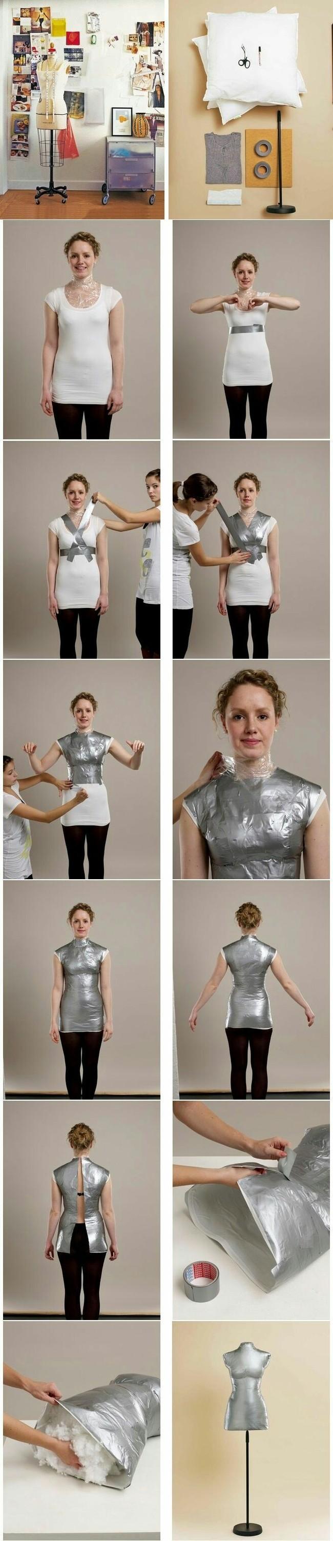 Как сделать манекен своими руками мастерская