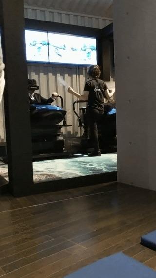 Стенд Samsung VR
