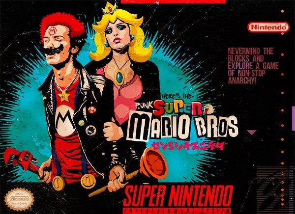 Не обращайте внимания на блоки Марио, SNES, Консоли, Панки, Super Mario