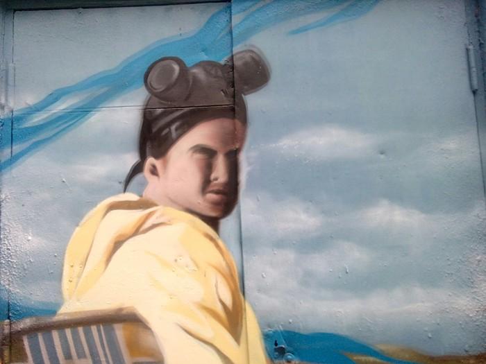 """Граффити по мотивам """"Во все тяжкие"""" Искусство, Граффити, Breaking bad, Фотография, Рисунок, Zdesroy, Длиннопост"""