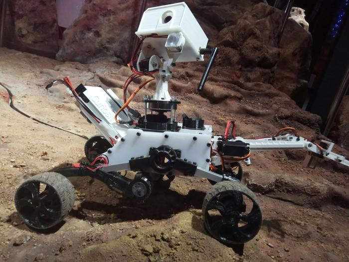 Рабочее воскресенье. Модель, Марс, Марсоход